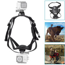 Adjustable Dual camera go pros dog body harness wholesale