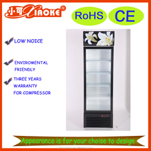 commercial display glass door freezer LC280