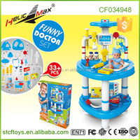 2016 Luxury Funny Doctor Set Medical Toy Nurse Play Set Play Pretend Toy Physican Kids Playing Doctor Stories