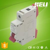 free sample 1A 2A 3A 4A 5A 6A 10A 16A 20A 25A 32A 40A 50A 63A electric circuit breaker mcb