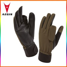 new products 2015 tactical gun shooting gloves for shooting exercise