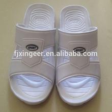 Klassische und heißer verkauf 007 saudi-arabien weiß und schwarz pantoffel