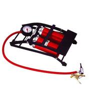 high pressure foot air pump with gauge