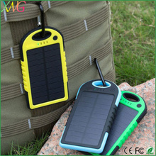new products 2016 waterproof portable solar power bank 12000mah battery charger