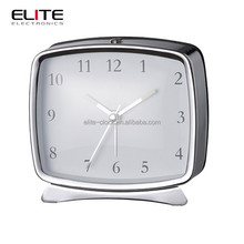 rectangle classic analog hotel electric alarm clocks