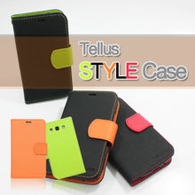 Samsung Galaxy Note2 GT-N7100 Tellus PU Leather Wallet Phone Case