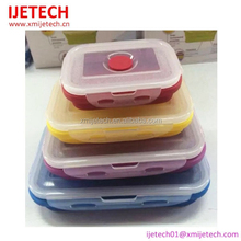 Non-toxic silicone Folding Storage Boxes