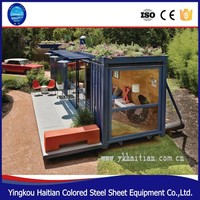 China modern house designs floor plans low cost the prefab luxury container house plans design