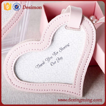 heart-shaped luggage tag for Thanksgiving Day gift card