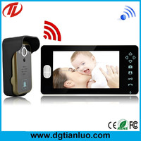 Protect your home safe wireless video door bell with real time calling
