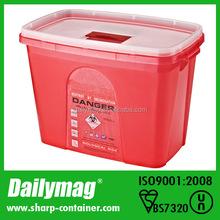 Large Bioharzard Red Medical Sharp Box