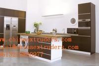 kitchen cabinets pvc foam board production line
