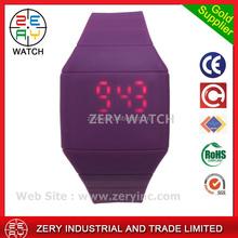 R0464 Mix Colors Simple Touch Led Watch wholesale cheap watch,Silicone wholesale cheap watch