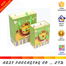 2015 hot sale top quality beautiful fashion gift different types of paper bags