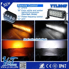Y&T 36w 6000k Motion Activated Wireless LED Light Bar, White