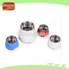 Aço inoxidável cão tigela de comida cão prato personalizado bacia do cão aço inoxidável vasilha
