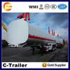 Top Quality Three Axles 42000L Oil Tank Trailer