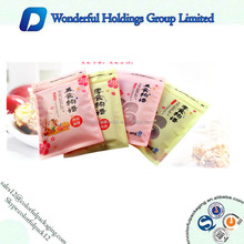Customized Design 100g Plastic Matte Cookies Packaging Bag With Clear Window