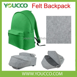 China supplier waterproof felt laptop computers backpacks bag