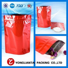 Stand up paper bag with zipper/ tea bag/ coffee bag