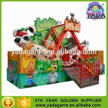 happy puppy love boat ride amusement park /arcade ride equipment for kids