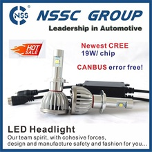 Newest Brightest 9000LM CREE XHP50 LED Headlight Conversion Kit H7 Replaces Car Truck Halogen & Xenon HID light Bulbs