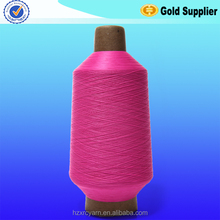 Factory Direct best price wholesale high Flexibility twisted dyed nylon yarn for making drawstring bag