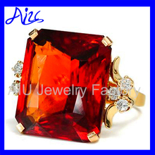 Excellent quality classical nice gemstone ring