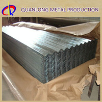 SGCC Zinc Steel Iron Corrugated Galvanized Sheet Metal Roofing Price