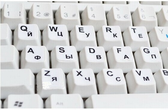 50pcs Arabic Letters Alphabet Learning Keyboard Layout Sticker For Laptop/Desktop Computer Keyboard 10 inch Or Above Tablet PC