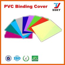 A4 0.125mm mass office pp book cover for binding book