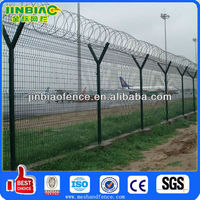 High Security Prison Wire Mesh Fence Design / metal mesh for fencing prices