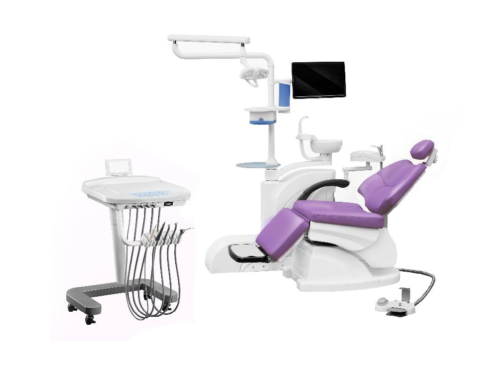 R el en cuir droite gauche danemark linak moteur fauteuil for Chaise dentaire
