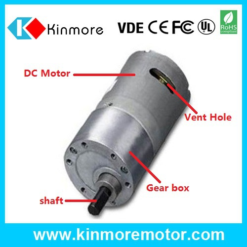 Hot sales 37b540 small low rpm dc motor with gearbox view for Low rpm motor dc