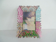 2014 latest design of photo frame Girl Picture Frame