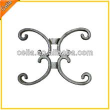 Hot sale pretty gate ornament cast aluminum