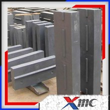 High Chromium,durabale and wear-resistant impact liner plate with reasonable and competitive price liner plate