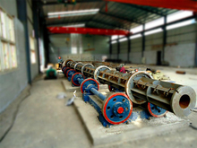 Heavy/light prestresssed electric concrete spun pole making machinery