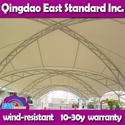 East Standard clear span outdoor shed tent