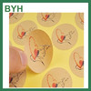 kraft self adhesive number stickers permanent adhesive stickers anti-theft adhesive sticker