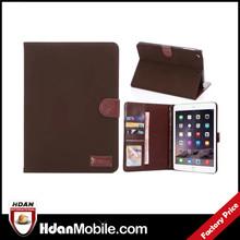 new arrival flip case cover for ipad mini 3 folio leather case, card holder case for ipad mini