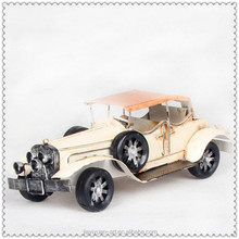 Wholesale Beige Color Metal Diecast Model Cars, Toy Car Metal Crafts for sale