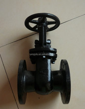 cast iron or russia standard carbon steel gate valve