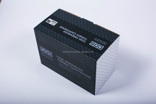 Printing corrugated cartridge shipping box