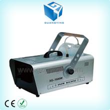 Customized 1500W DMX512 AC90v-220v adjustable large output snow machine