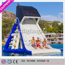 2015 Cheap price large inflatable water pool toys ,water floating slide