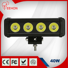 4 led light bar 40w 8 inch LED light bar 10w One Row 40w led light bar