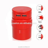 Electric,Plug with Socket Type and Mobile Phone Use travel adapter with usb