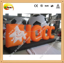 Hot sale advertising inflatable model and can custom
