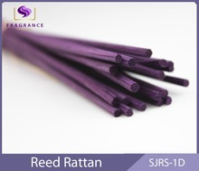 2015 Hot sale colored scented rattan stick wood diffuser reed